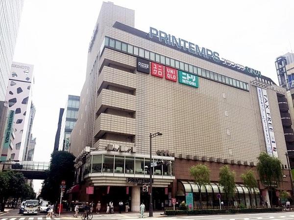 東京都内のおすすめデートスポット5.プランタン銀座